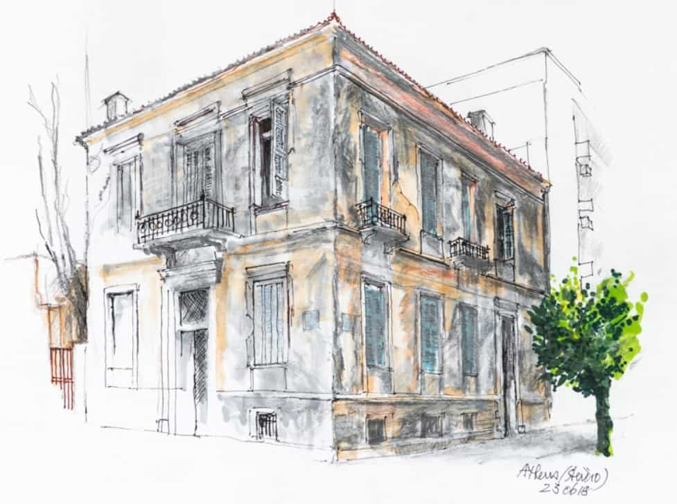 Collection by Australian artist Max Grierson inspired by Athens and the Greek islands 7