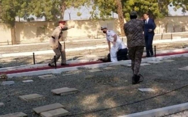 Greek Foreign Affairs Ministry condemns bomb attack at Jeddah WWI memorial