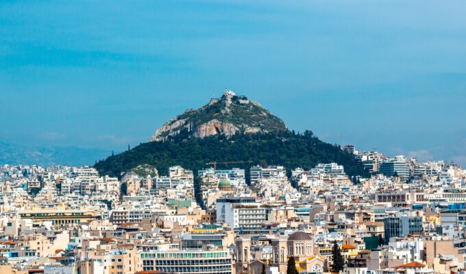 Lycabettus Hill is a must see in Athens