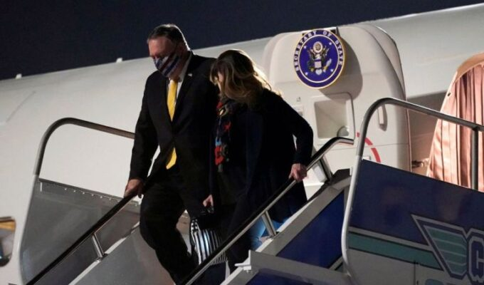 Mike Pompeo arrives in Istanbul ahead of meeting with Ecumenical Patriarch Bartholomew