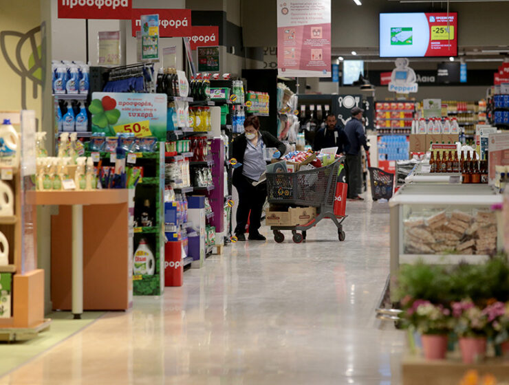 Greece bans sale of durable goods at supermarkets
