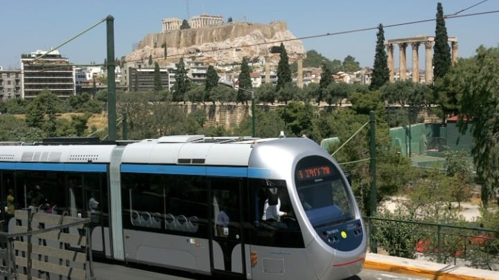Tram service to and from Syntagma resumes