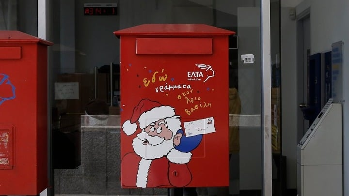 Hellenic Post - Write a letter to Santa Claus 2020