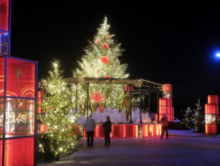 Thessaloniki all dressed up for Christmas 2020