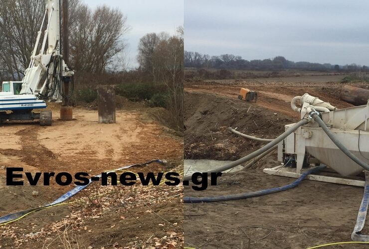Observatory post at Evros to keep illegal immigrants out is being constructed (VIDEO) 8