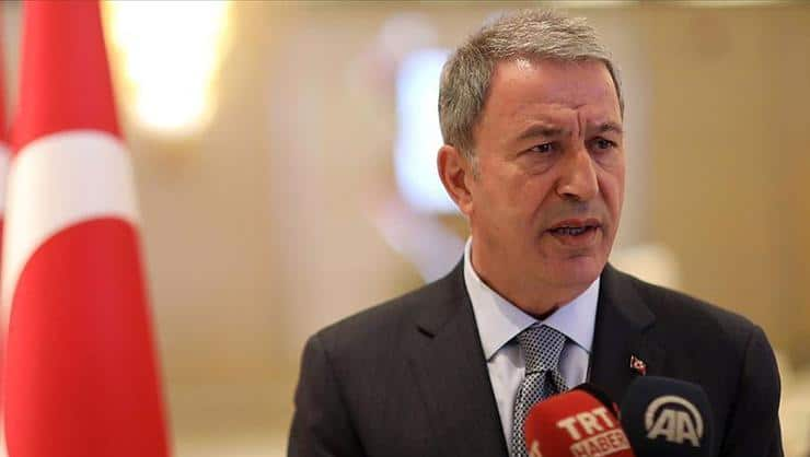 Turkey's so-called Defense Minister, Hulusi Akar.
