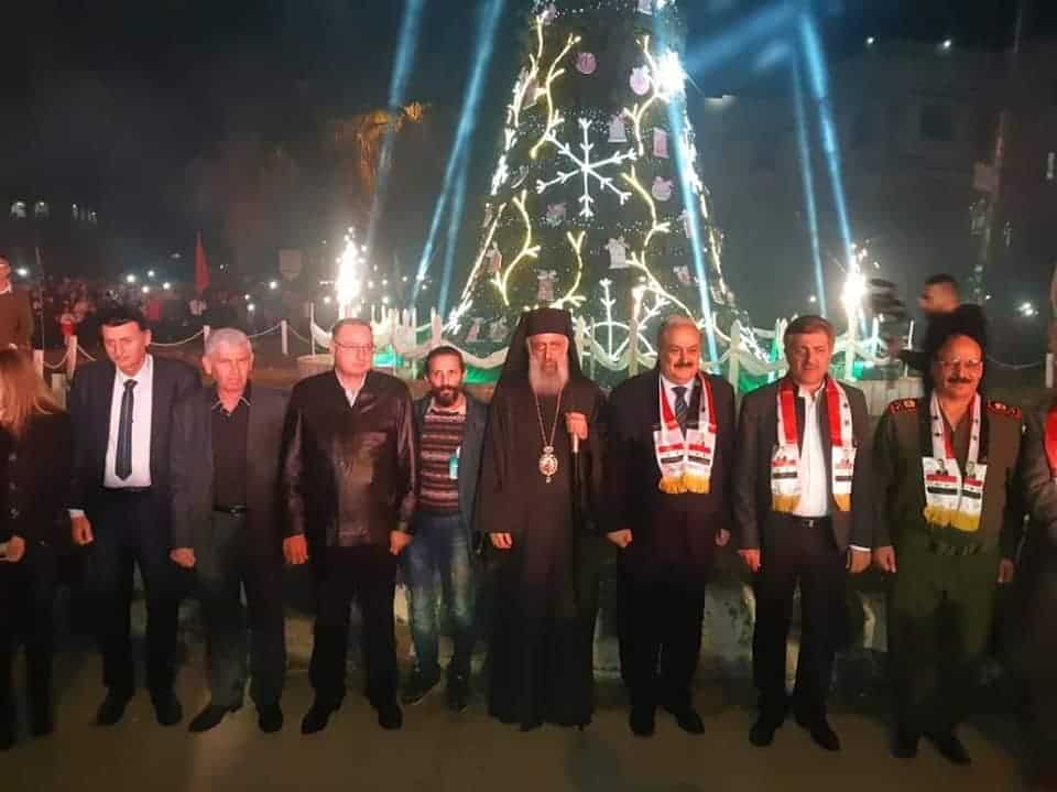 Greek Orthodox Christians in Syria celebrate the lighting of Christmas Tree (VIDEO) 2