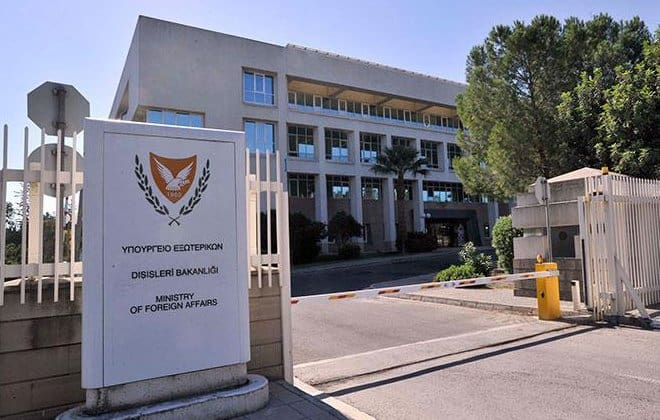 Cypriot Ministry of Foreign Affairs. Cyprus