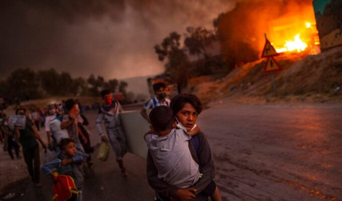 A Greek won the UNICEF award for photo of the year 2
