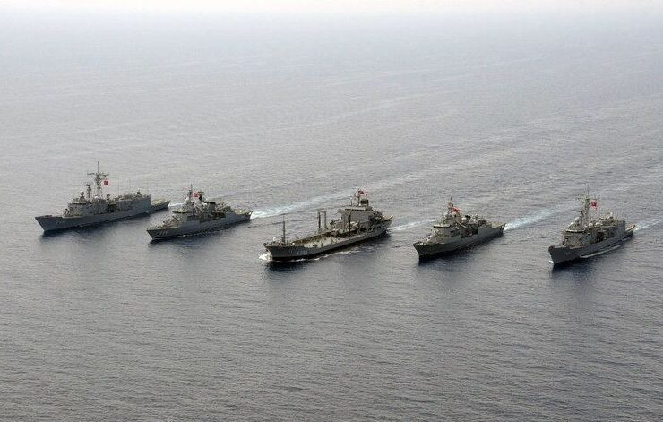 Turkey Turkish warships.
