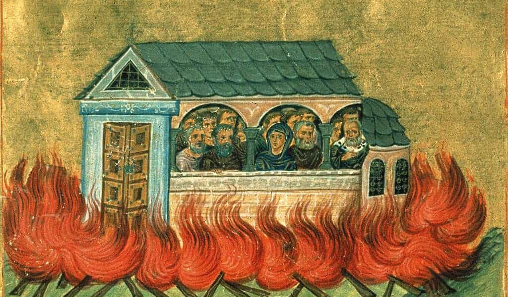 December 28, The Holy 20,000 Martyrs of Nicomedia