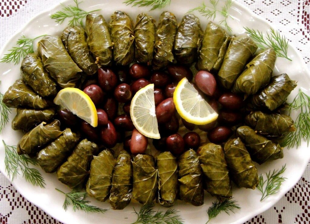 Dolmades- Stuffed Vine Leaves Recipe