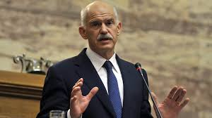 Former Prime Minister George Papandreou.