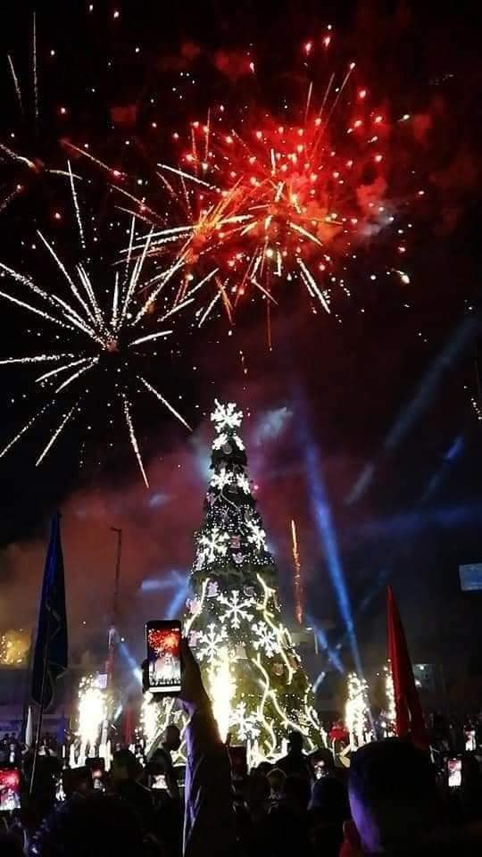 Greek Orthodox Christians in Syria celebrate the lighting of Christmas Tree (VIDEO) 1