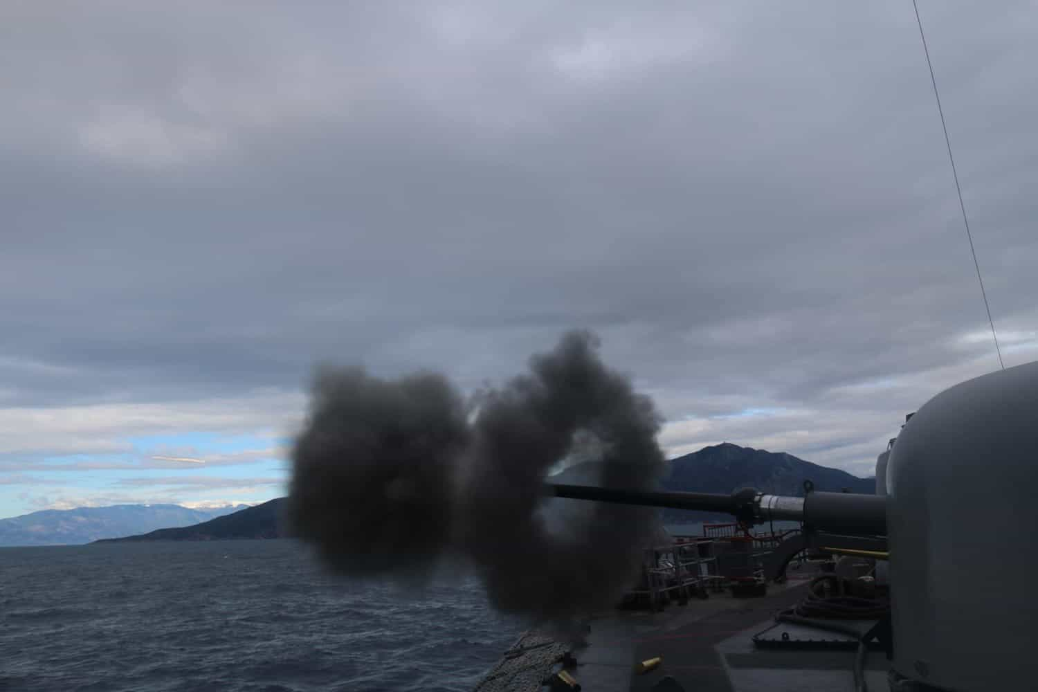 Image released by Turkey's so-called Defense Ministry. Turkish Navy