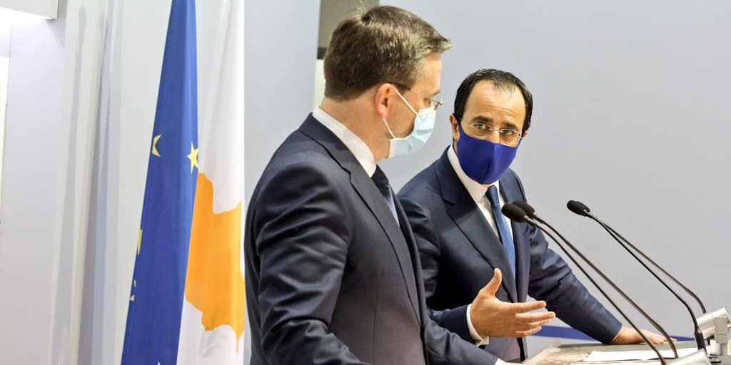 Christodoulides to Serbian FM: Your presence reflects our countries traditional friendship 1