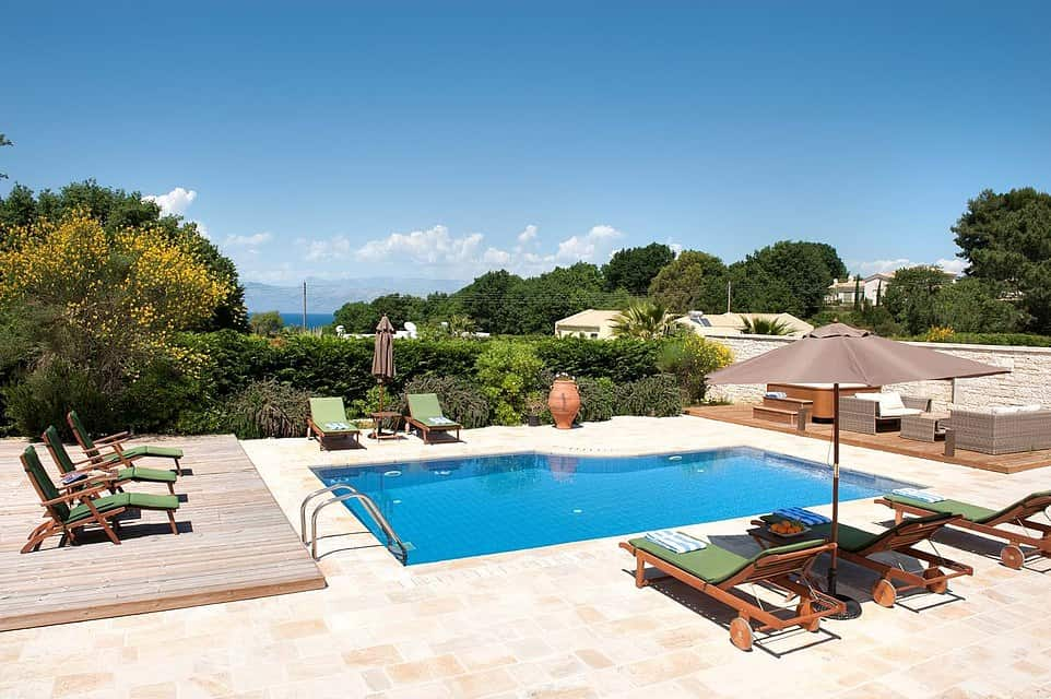You might just get lucky and win the chance to work from a luxury Corfu villa for free