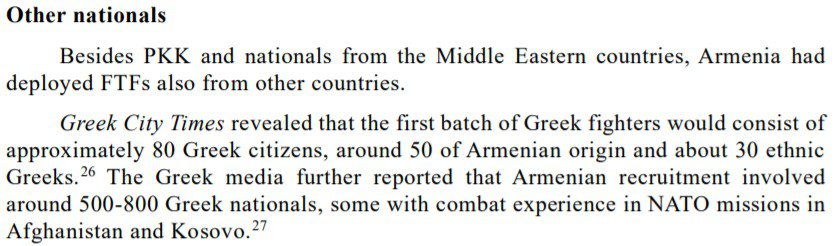 Azerbaijan complains to the UN that Greeks fought in Artsakh 1