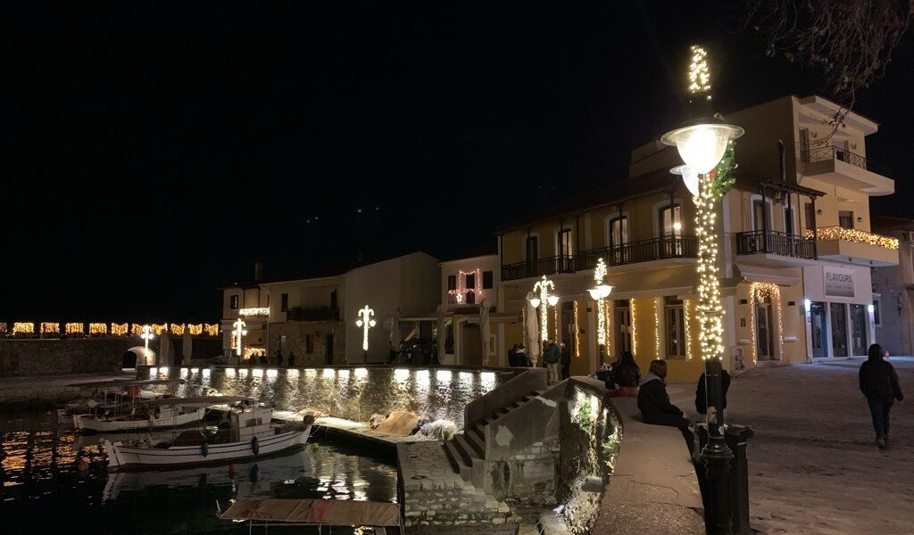 What a COVID Christmas looks like in Nafpaktos