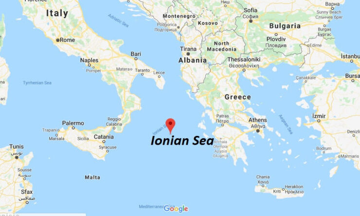Greece doubling territorial waters in the Ionian Sea. The Aegean Sea up next. 5