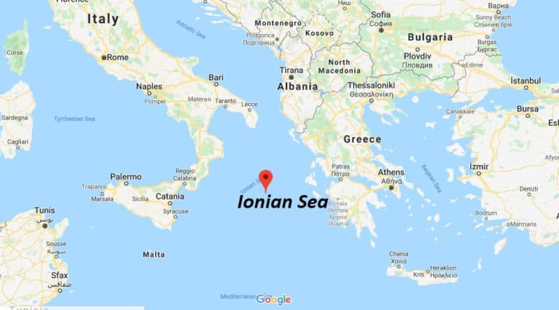 Greece doubling territorial waters in the Ionian Sea. The Aegean Sea up next. 1
