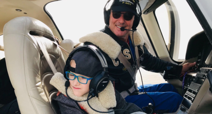 Meet the Greek pilot who lifts the spirits of children with disabilities