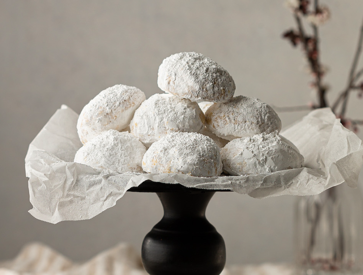 Christmas Countdown Recipes: Kourabiedes