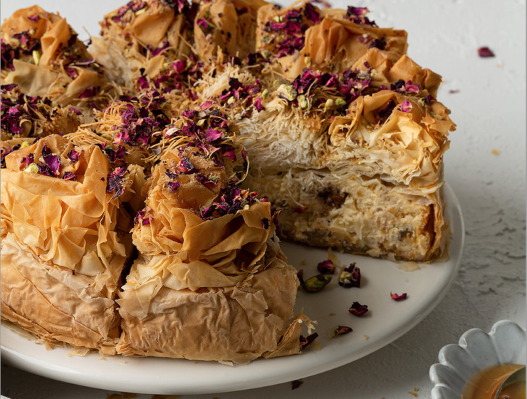 Christmas Countdown Recipes: Baklava Cheesecake