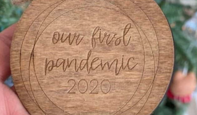Jennifer Aniston cops resentment over 'Our First Pandemic' Christmas tree ornament