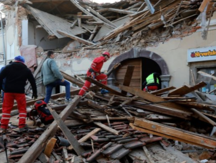 Greek officials express solidarity with Croatia after strong earthquake