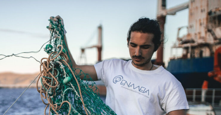 """Lefteris Arapakis named Europe's """"Young Champion of the Earth"""""""