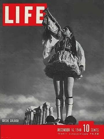 On this day 80 years ago, an Evzone graced the front cover of Life Magazine 2