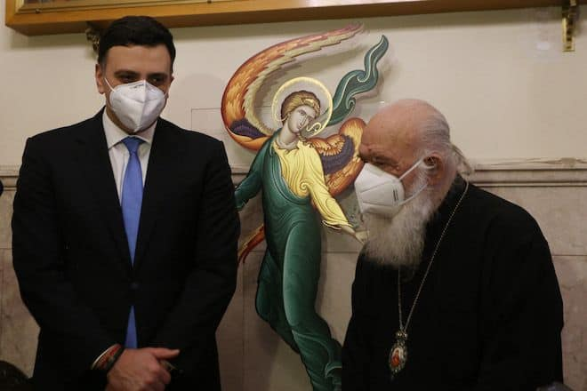 Archbishop Ieronymos: I would have been among the first to be vaccinated