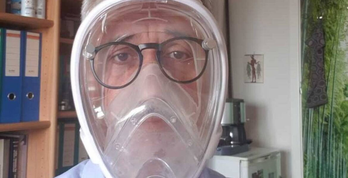 """Virus Terminator"" face mask developed at Aristotle University of Thessaloniki"