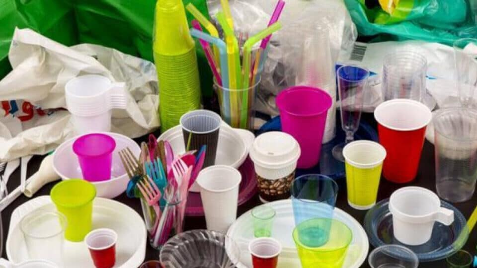 Single-use plastic ban from 1 February 2021