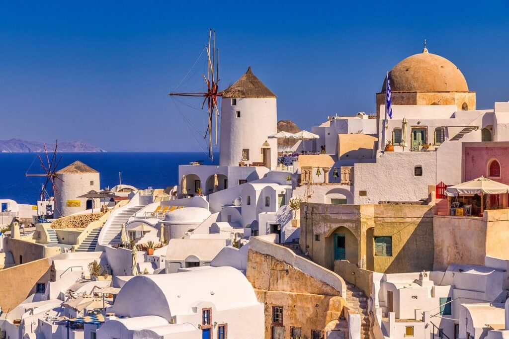 "Santorini named the ""Best Island in Europe"""