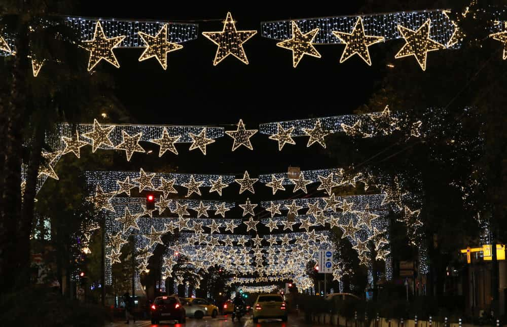 Syntagma Square lights up for Christmas
