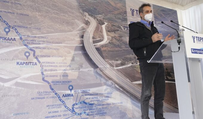 Mitsotakis: The E65 road project will be completed - Great project for Western Macedonia 1