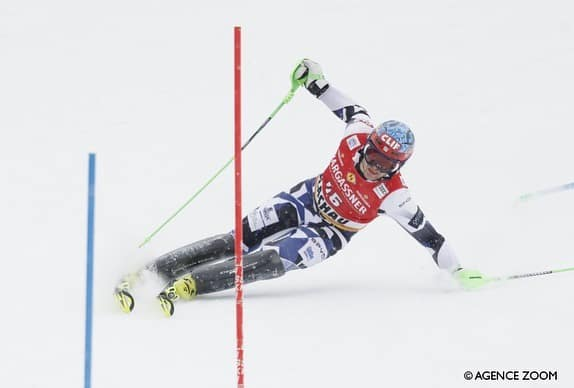 Greek American AJ Ginnis makes history at the FIS Alpine Ski World Cup