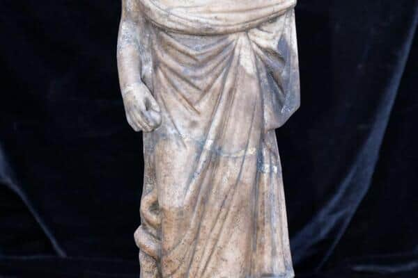 Statue Of Ancient Greek God Asclepius And Bust Of Zeus Serapis Found In Turkey Greek City Times
