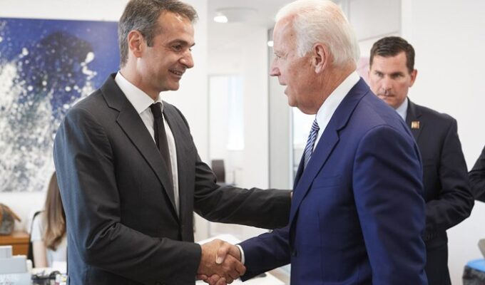Greek PM Mitsotakis congratulates Joe Biden and Kamala Harris