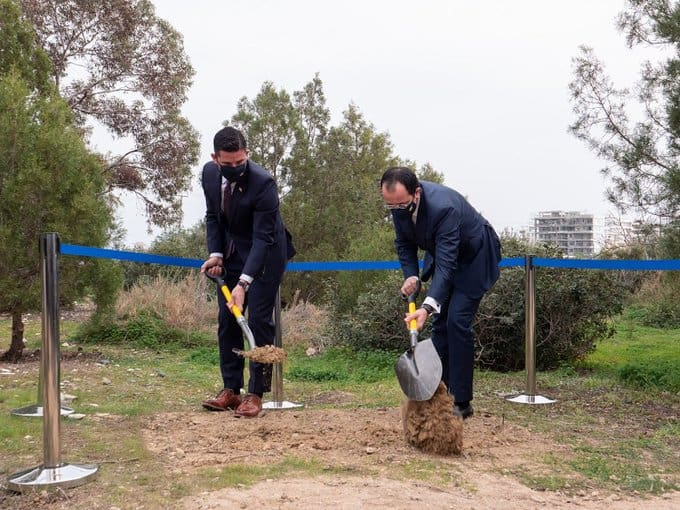Foundation laying ceremony for CYCLOPS training facility in Cyprus