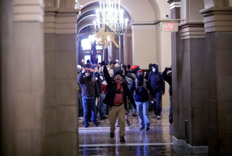Protesters storm US Capitol building