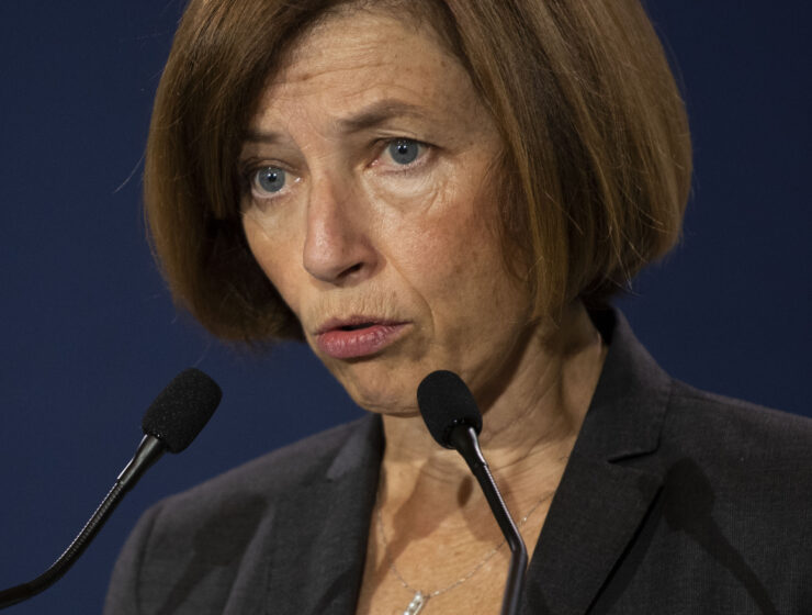French Minister for the Armed Forces Florence Parly