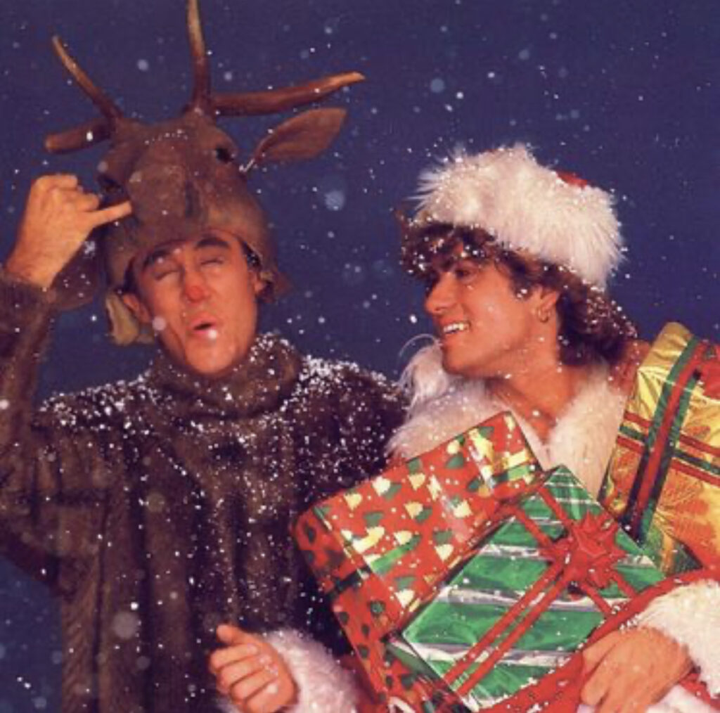 Last Christmas George Michael Andrew Ridgeley