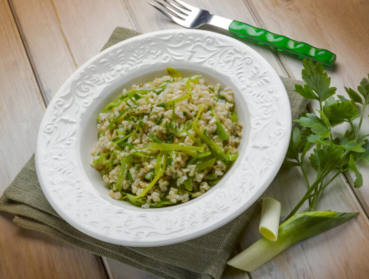 Prasorizo- Leek with Rice Recipe
