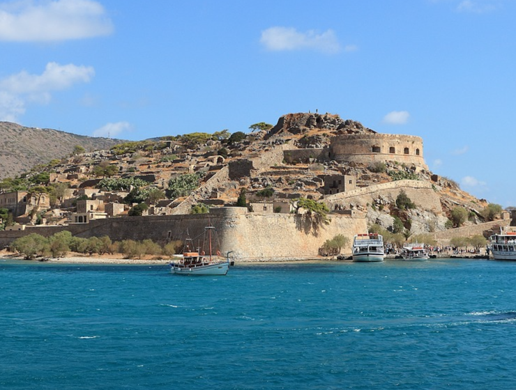 €2.5 million for electricity and water systems on the Greek islet of Spinalonga