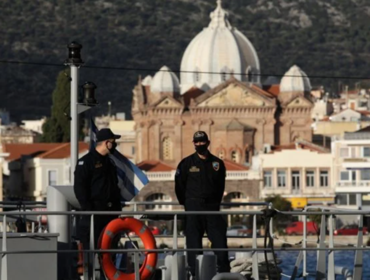 Island of Lesvos in a stricter lockdown