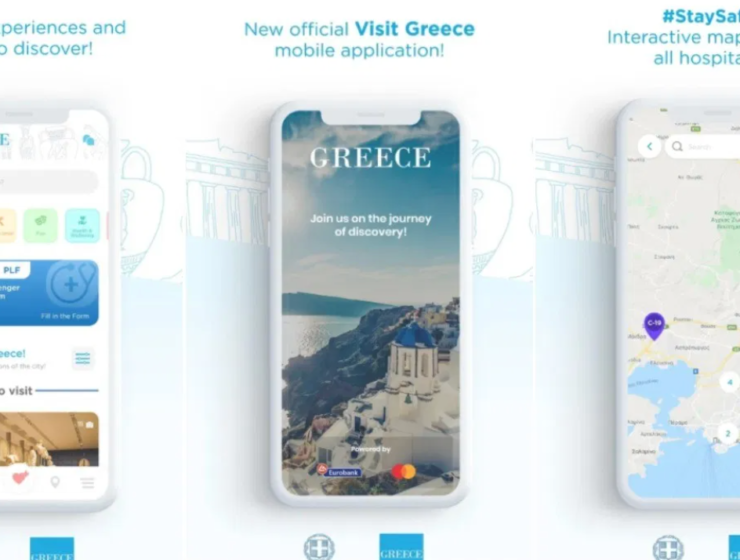'Visit Greece' voted best app of the year at the e-volution Awards 2021