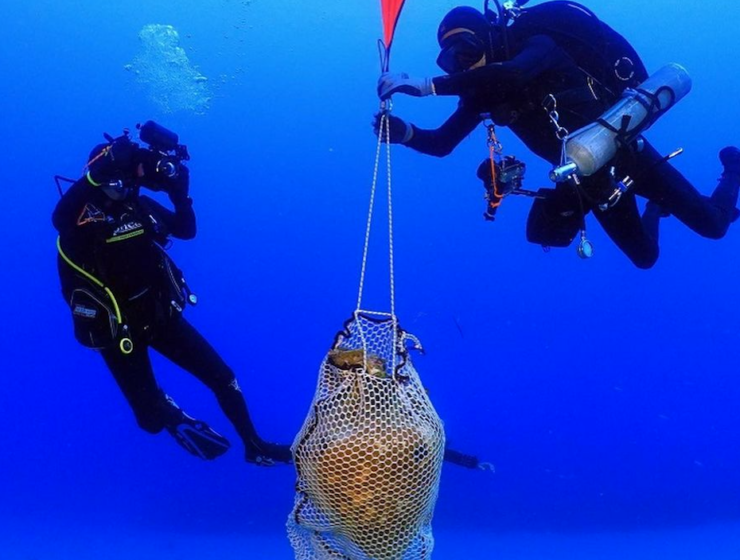Roman shipwreck filled with ancient treasures, discovered off Greece's Kassos Island